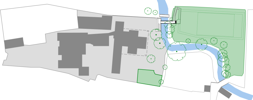 bridge to the parish field_site plan